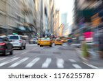 abstract blurred scene with... | Shutterstock . vector #1176255787