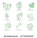 ecology icon set. eco icons | Shutterstock . vector #117626365