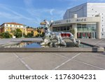 nice  france   06 july  2015 ... | Shutterstock . vector #1176304231