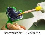 closeup shot of dental... | Shutterstock . vector #117630745