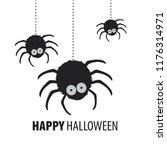Happy Halloween. Spider Set....