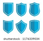 shield icons collection.... | Shutterstock .eps vector #1176339034