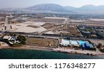 aerial drone bird's eye view... | Shutterstock . vector #1176348277