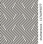 vector seamless pattern. modern ... | Shutterstock .eps vector #1176395077