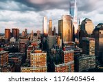 aerial view from helicopter... | Shutterstock . vector #1176405454