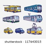 transport | Shutterstock .eps vector #117643015