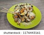 penang fruit rojak  with fruits ... | Shutterstock . vector #1176443161