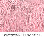 shiny pink gold wrapping paper... | Shutterstock . vector #1176445141