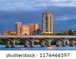 Tulsa  Oklahoma  Usa Downtown...