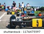 kart racing park is the... | Shutterstock . vector #1176475597