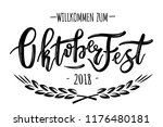 Hand Sketched Octoberfest Text...