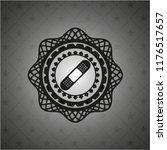 bandage plaster icon inside... | Shutterstock .eps vector #1176517657