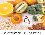 nutritious ingredients and... | Shutterstock . vector #1176519154