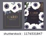 wedding invitation  floral... | Shutterstock .eps vector #1176531847