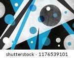 abstract background design in... | Shutterstock . vector #1176539101
