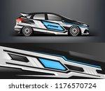 car wrap.  modern racing car... | Shutterstock .eps vector #1176570724