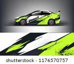 car wrap.  modern racing car... | Shutterstock .eps vector #1176570757