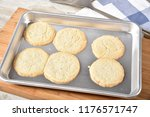 sugar cookies fresh out of the... | Shutterstock . vector #1176571747