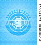appropriate light blue water... | Shutterstock .eps vector #1176597721