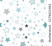 seamless vector repetitive... | Shutterstock .eps vector #1176611461