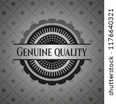 genuine quality realistic dark... | Shutterstock .eps vector #1176640321
