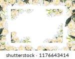abstract design of flowers...   Shutterstock . vector #1176643414