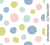 childish seamless pattern with... | Shutterstock . vector #1176661504