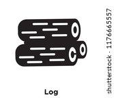 log icon vector isolated on... | Shutterstock .eps vector #1176665557