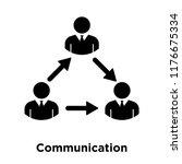 communication icon vector...