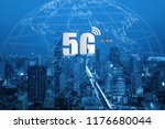 5g network wireless systems and ...   Shutterstock . vector #1176680044