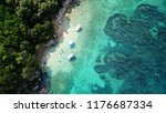 aerial drone bird's eye view... | Shutterstock . vector #1176687334