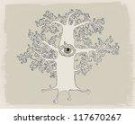 mysterious tree | Shutterstock . vector #117670267