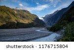 landscape of franz josef...   Shutterstock . vector #1176715804