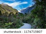 landscape of franz josef...   Shutterstock . vector #1176715807