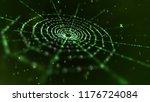 a mystifying 3d rendering of a... | Shutterstock . vector #1176724084