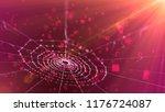 a fairylike 3d illustration of... | Shutterstock . vector #1176724087