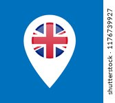 british flag and mappointer