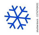 snow flake icon | Shutterstock .eps vector #1176743431