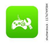 gamepad repairicon green... | Shutterstock . vector #1176749584