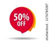 10  off sale discount banner.... | Shutterstock .eps vector #1176785287