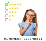 the best rating  evaluation ... | Shutterstock . vector #1176786511