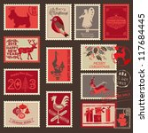 christmas postage stamps   for...