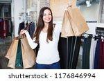 portrait of adult woman... | Shutterstock . vector #1176846994