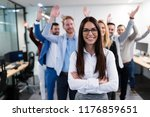 group picture of business team... | Shutterstock . vector #1176859651