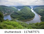 View Of A River Saar With...