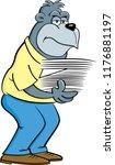 cartoon illustration of a... | Shutterstock .eps vector #1176881197