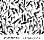 white and black grunge pattern. ...   Shutterstock .eps vector #1176883141