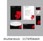 stationery editable corporate...   Shutterstock .eps vector #1176906664