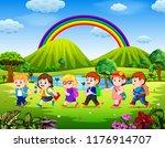 vector illustration of the... | Shutterstock .eps vector #1176914707