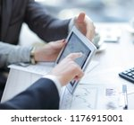 close up.business team...   Shutterstock . vector #1176915001